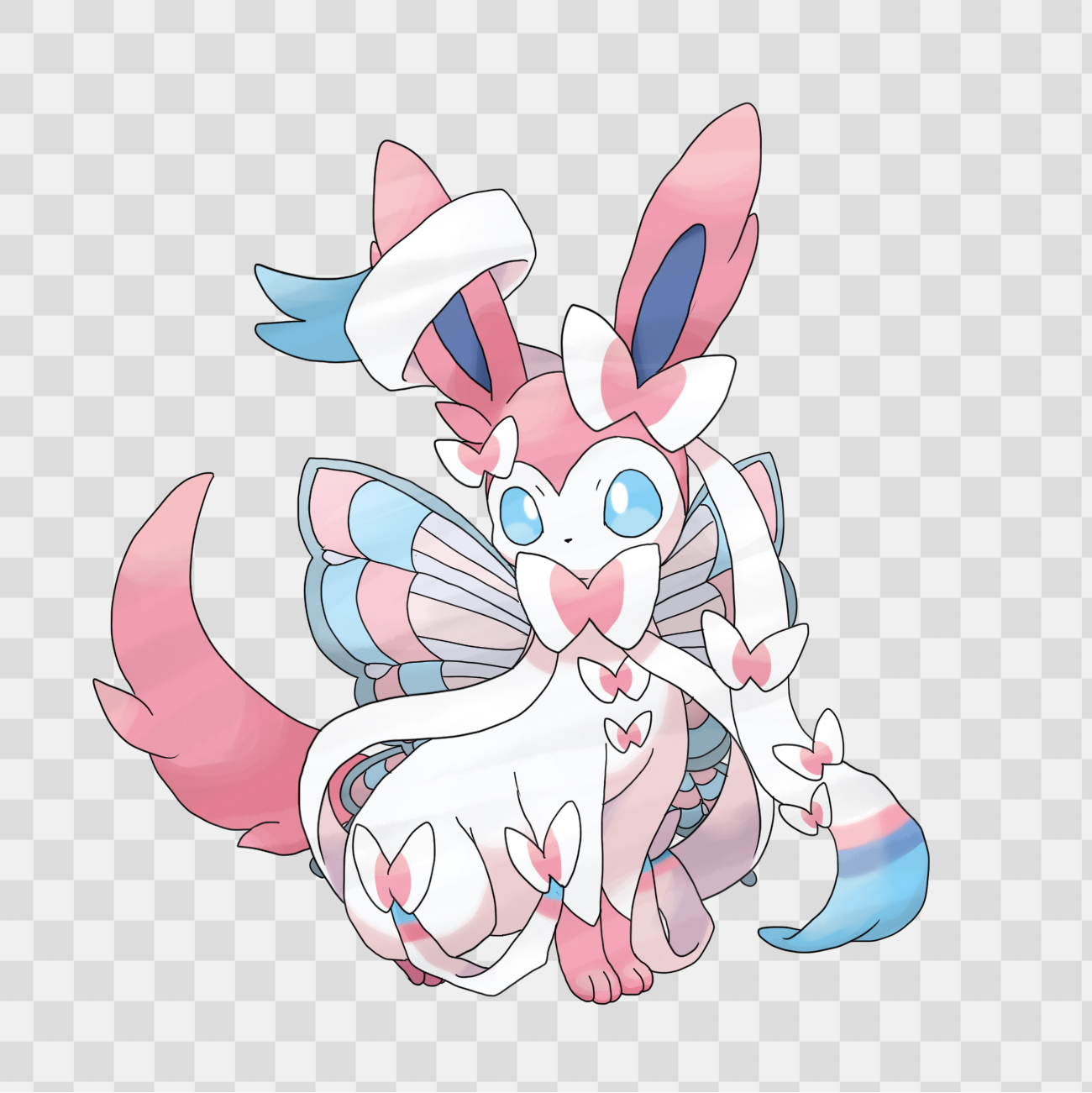 Sylveon - Pokémon - Image #1610566 - Zerochan Anime Image ...
