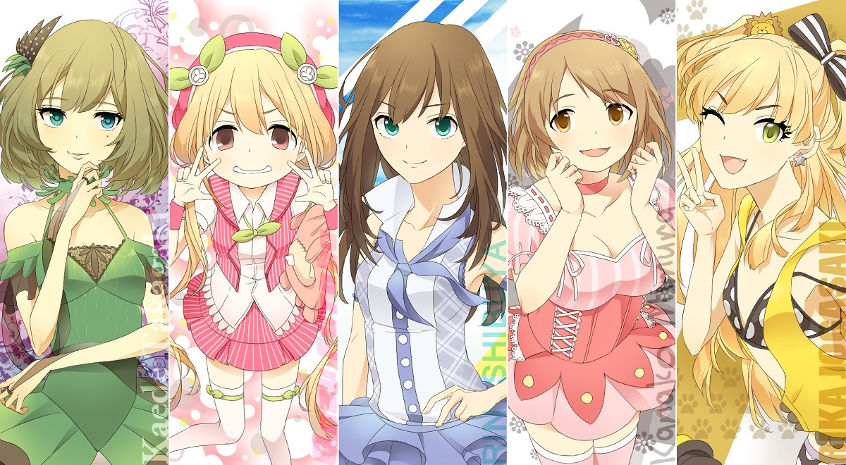 Idol M Ster Anime Characters : The idolm ster cinderella girls zerochan