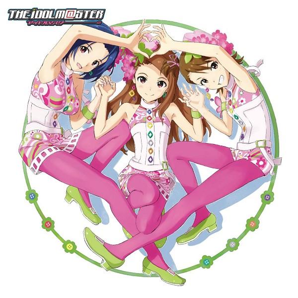Tags: Anime, CD (Source), THE iDOLM@STER, Miura Azusa, Futami Ami