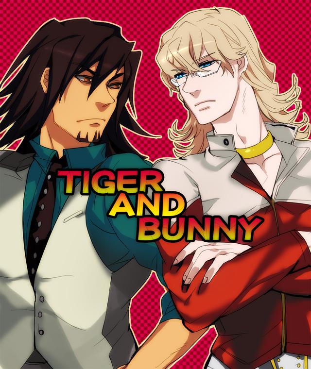 Tags: Anime, Wonagi, TIGER & BUNNY, Kaburagi T. Kotetsu, Barnaby Brooks Jr., Pixiv, Fanart