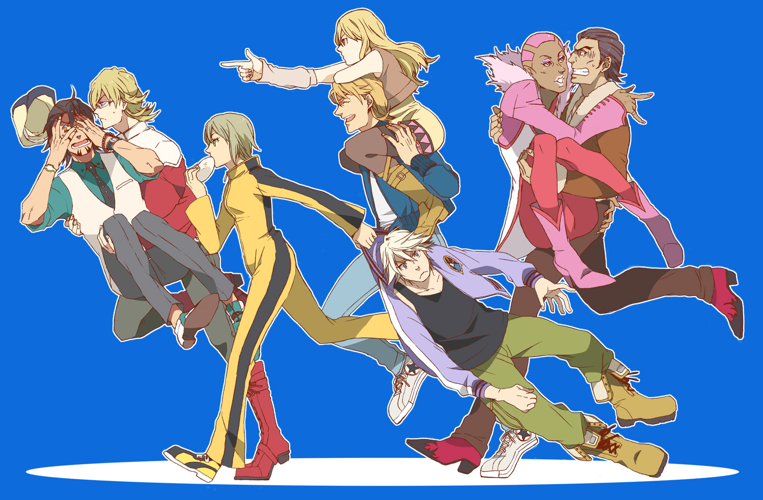 Fire Emblem Tiger And Bunny: TIGER & BUNNY Image #566254
