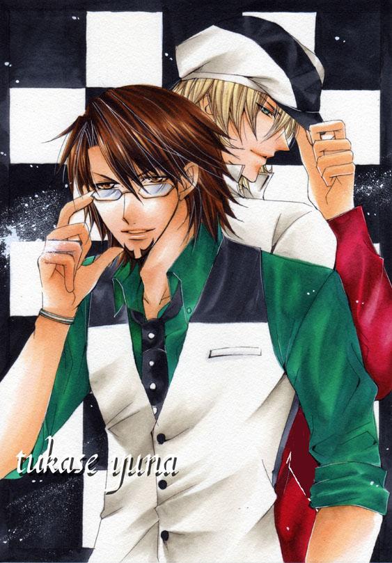 Tags: Anime, Pixiv Id 453215, TIGER & BUNNY, Barnaby Brooks Jr., Kaburagi T. Kotetsu, Pixiv, Fanart