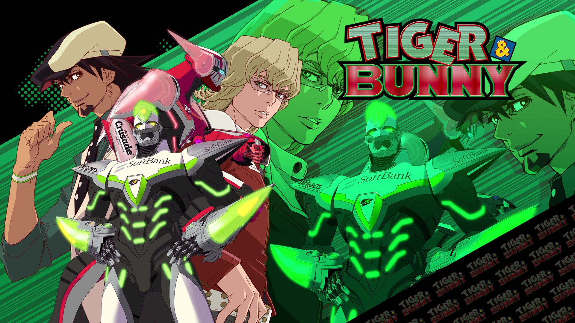 Tiger Amp Bunny Hd Wallpaper 695926 Zerochan Anime Image Board