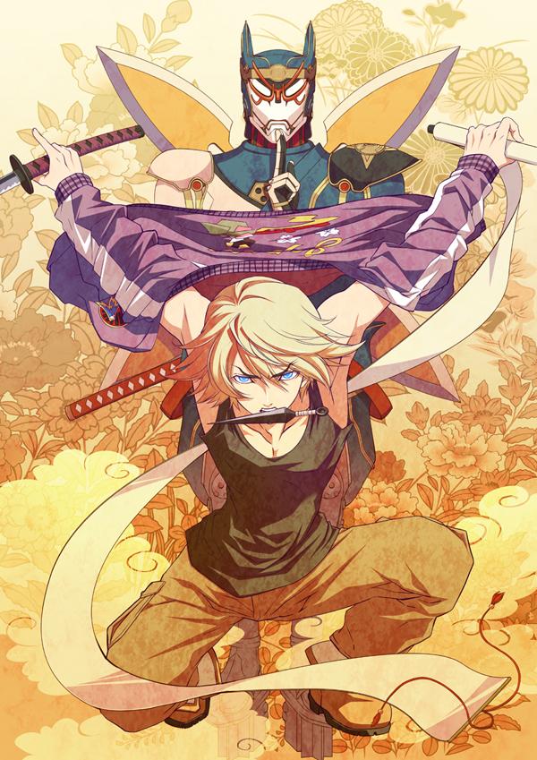 Tags: Anime, Yokota Mamoru, TIGER & BUNNY, Origami Cyclone, Ivan Karelin, Fanart, Mobile Wallpaper, Comic Market 80, Comic Market, Pixiv