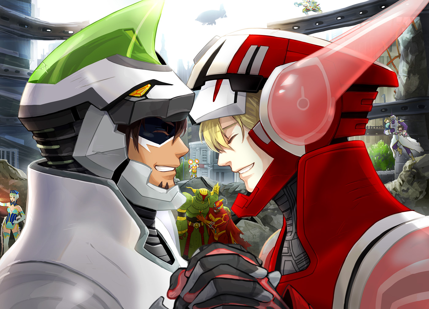 Fire Emblem Tiger And Bunny: TIGER & BUNNY Image #716784