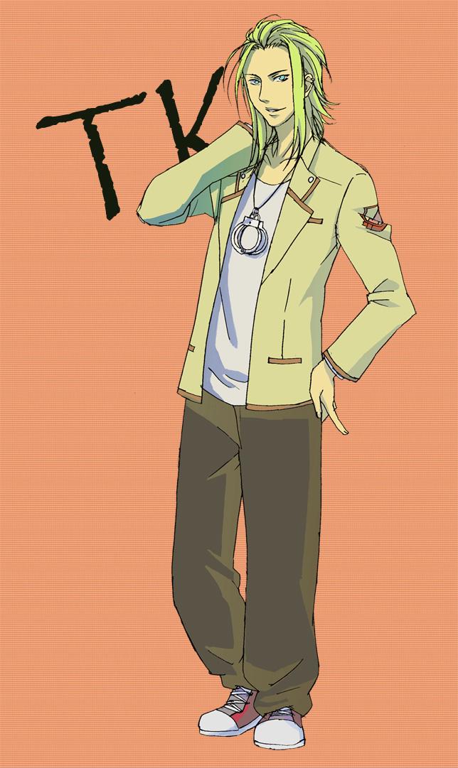 Tags: Anime, Pixiv Id 450287, Angel Beats!, TK (Angel Beats!), Mobile Wallpaper