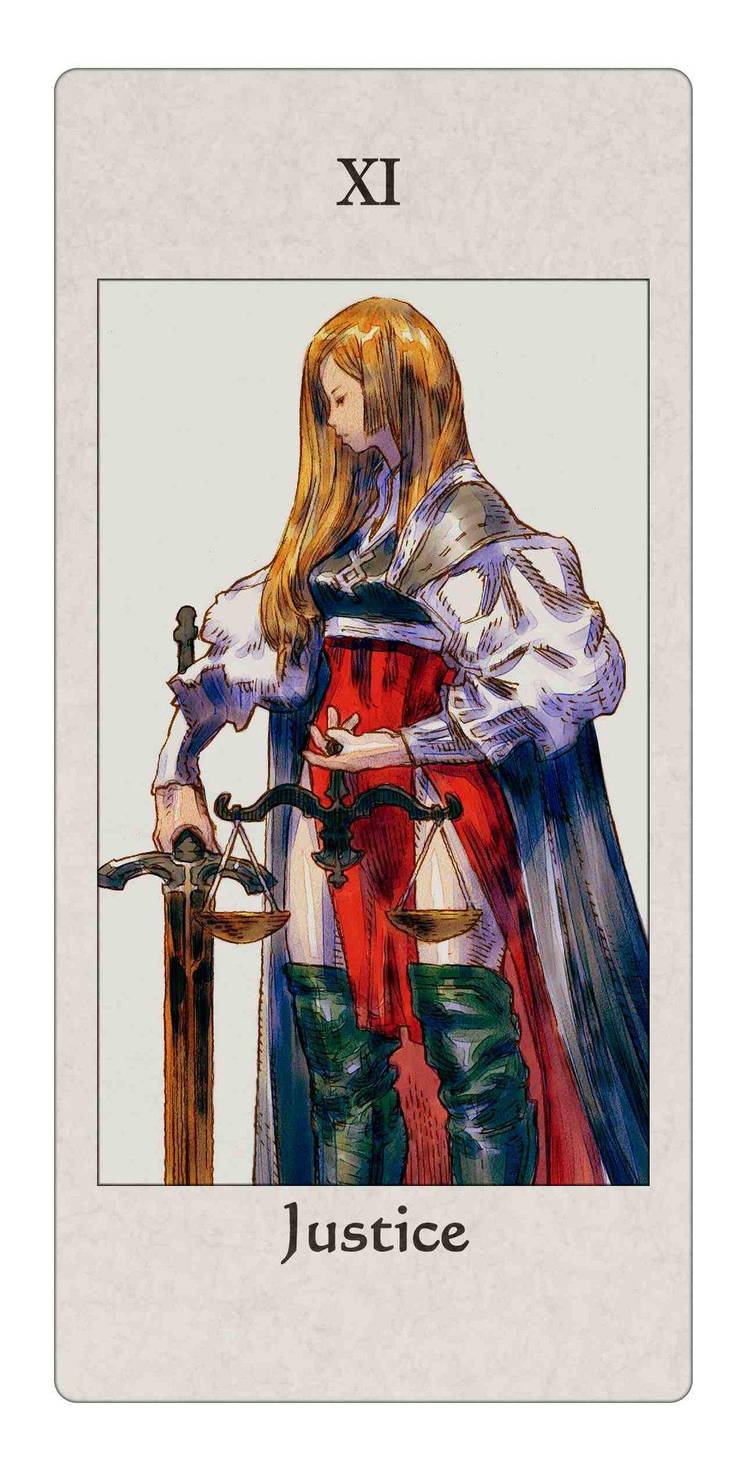 Tarot Combat A Battle Oriented Game Using A Tarot Deck: Tactics Ogre: Let Us Cling Together/#472669
