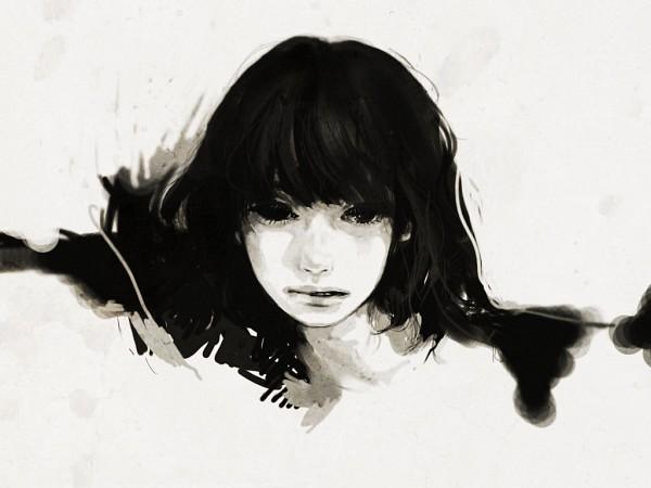 Tags: Anime, Tae4021, Black, Semi-realism, Long Eyelashes, Realistic