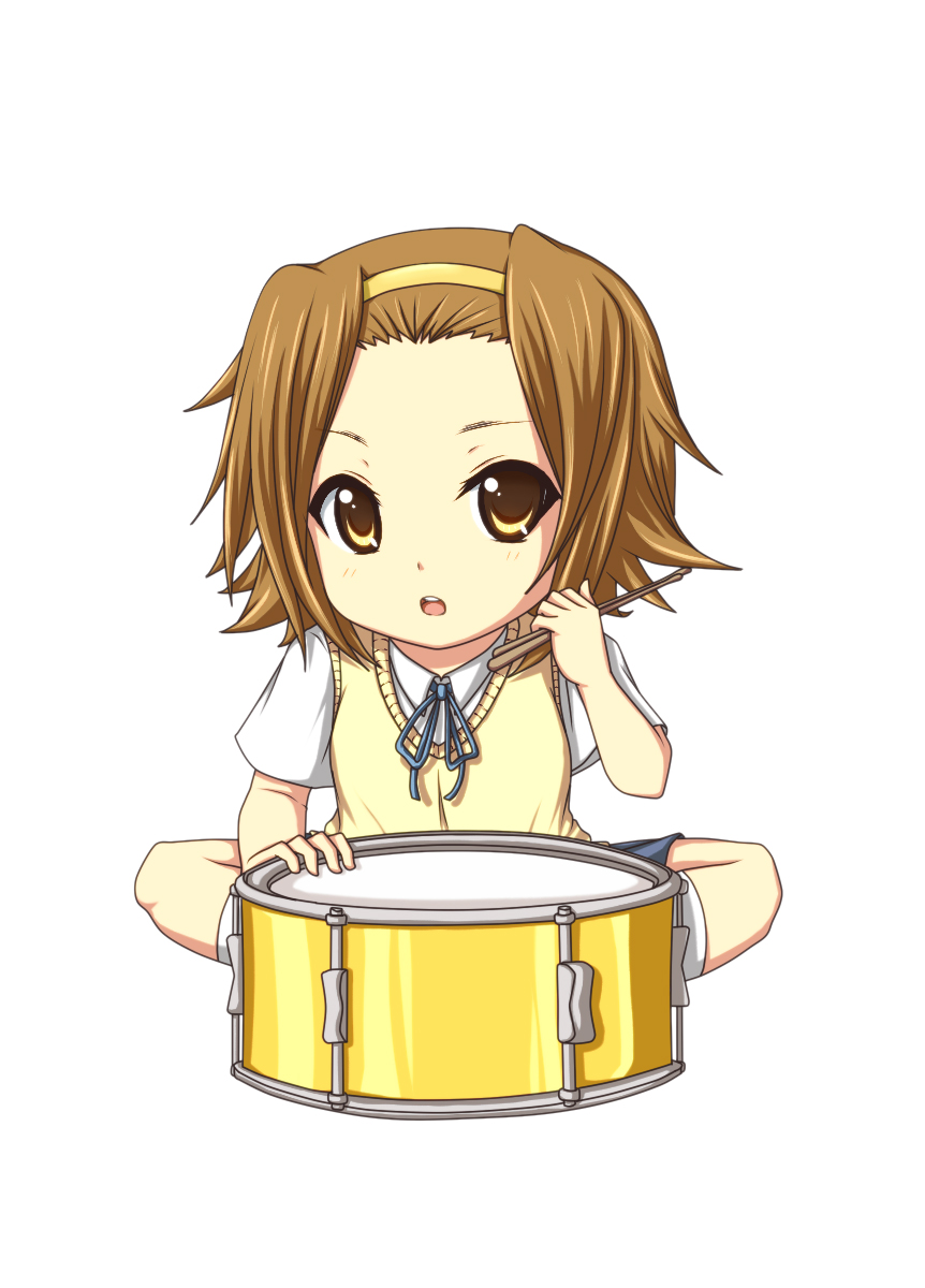 Tags Anime  Kuena  K-ON    K On Ritsu Drums