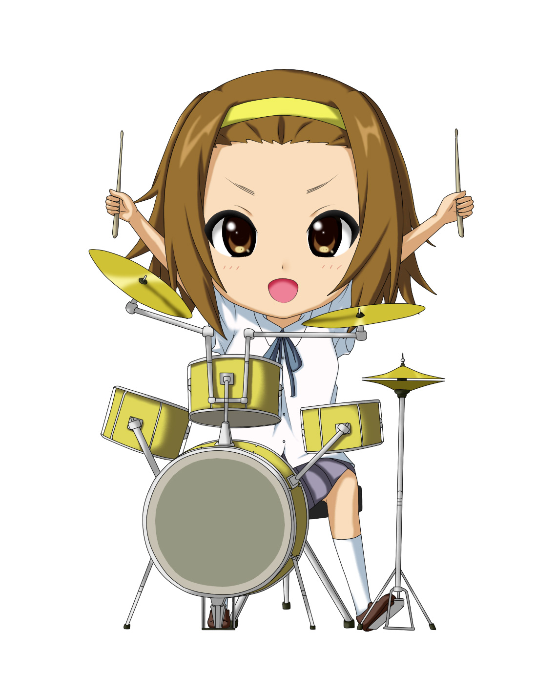 K-ON   Tainaka Ritsu  Drum  K On Ritsu Drums