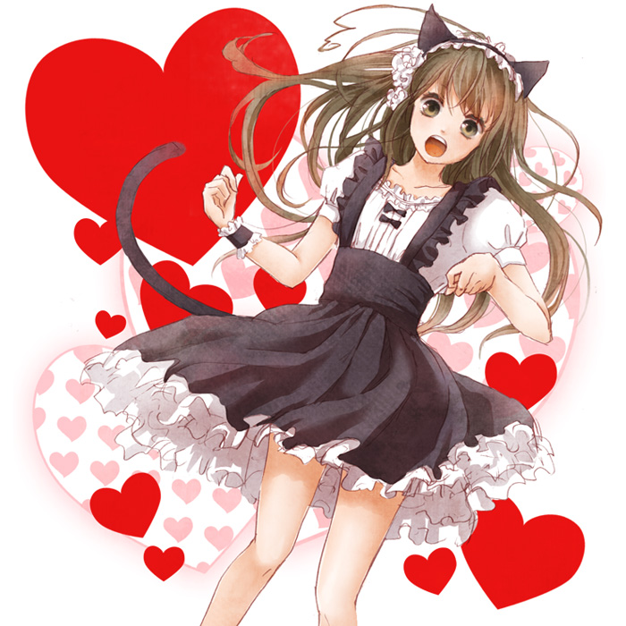 Anime Girl With Long Curly Hair: Zerochan Anime Image Board