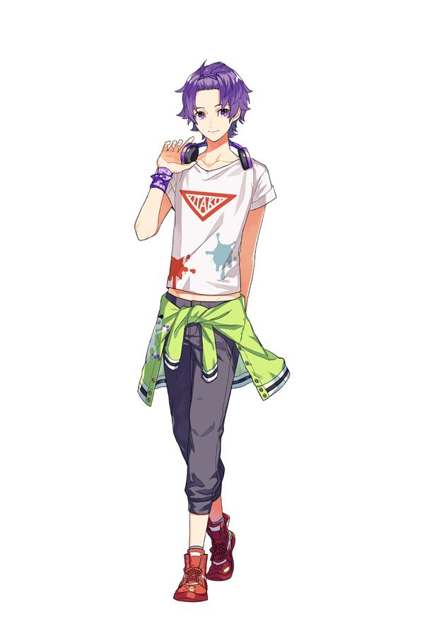 Tags: Anime, Ebira, Readyyy!, Takachiho Aki, Jacket Around Waist, Official Art