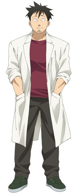 Tags: Anime, Kawakami Tetsuya, A-1 Pictures, Demi-chan wa Kataritai, Takahashi Tetsuo, Official Art, Cover Image, PNG Conversion
