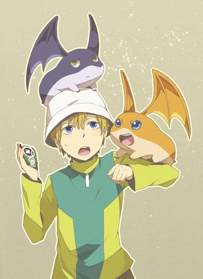 Takaishi Takeru Digimon Adventure Mobile Wallpaper