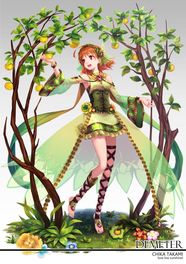 Tags: Anime, Ragnarok026, Love Live! Sunshine!!, Takami Chika, Toeless Socks, Mobile Wallpaper, Chika Takami
