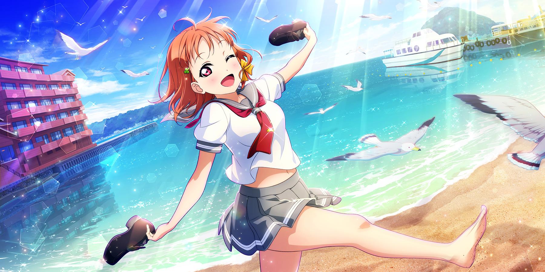 Takami Chika Chika Takami Love Live Sunshine Wallpaper 2707807 Zerochan Anime Image Board