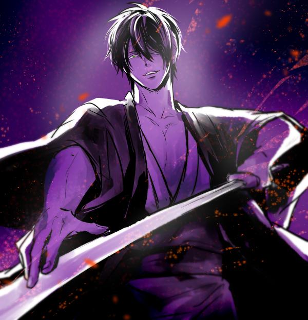 Tags: Anime, Sakurana, Gintama, Takasugi Shinsuke, Pixiv, Fanart From Pixiv, Fanart