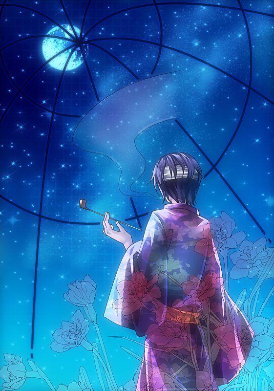 Tags: Anime, Sakubun, Gintama, Takasugi Shinsuke, Fanart From Pixiv, Fanart, Pixiv, Mobile Wallpaper