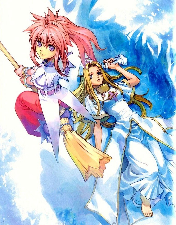 Tags: Anime, Tales of Phantasia, Mint Adenade, Arche Klein, Artist Request