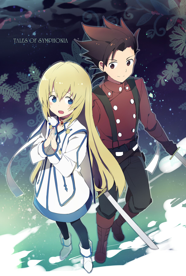 Tags: Anime, Megata, Tales of Symphonia, Lloyd Irving, Colette Brunel, Tales Of Symphonia: Dawn Of The New World