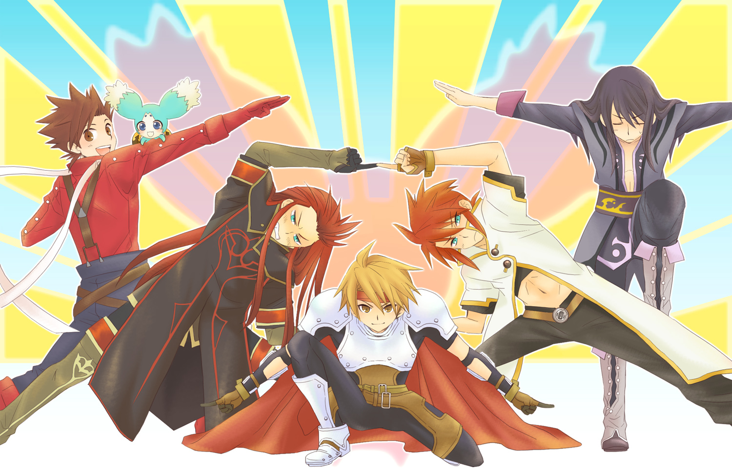 Tales Of Symphonia Tales Of Symphonia Dawn Of The New World