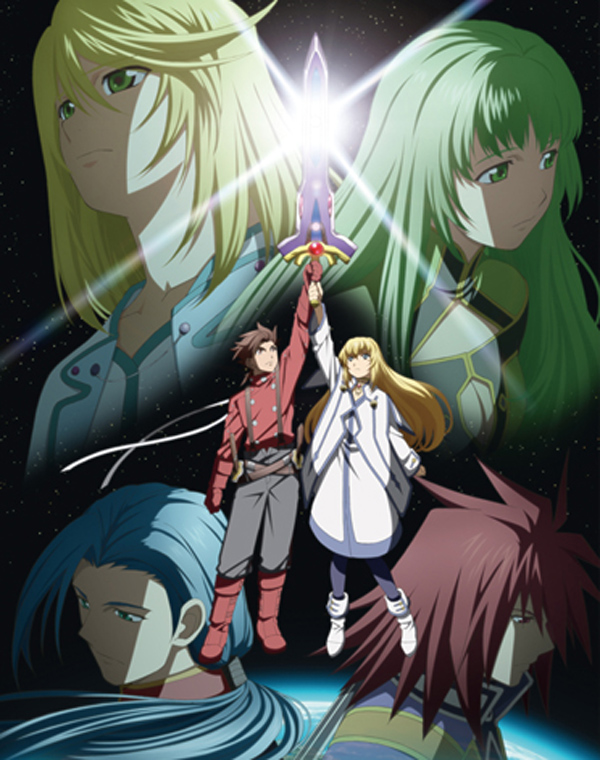 Tags: Anime, Tales of Symphonia, Martel Yggdrasill, Kratos Aurion, Yuan Ka-Fai, Mithos Yggdrasill, Colette Brunel, Lloyd Irving, Head, Official Art, Tales Of Symphonia: Dawn Of The New World