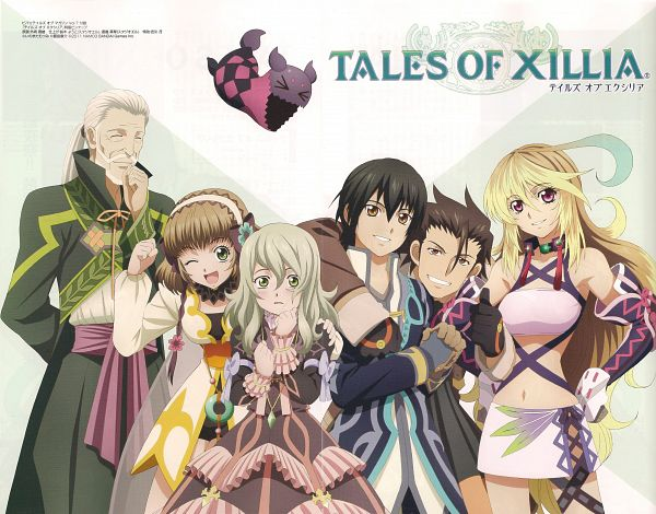 Tags: Anime, Official Art, Milla Maxwell, Tales of Xillia, Jude Mathis