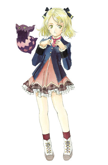 Tags: Anime, Official Art, Tales of Xillia, Elise Lutas, Tipo (Tales Of Xillia)