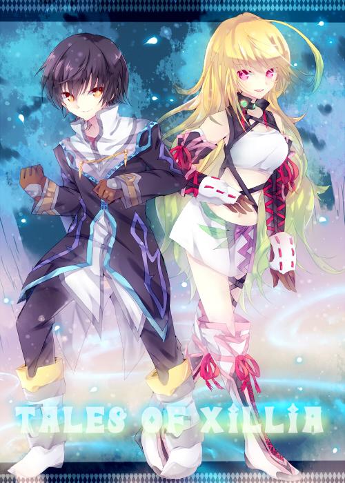 Tags: Anime, Pixiv Id 28850, Tales of Xillia, Jude Mathis, Milla Maxwell, Pixiv, Fanart