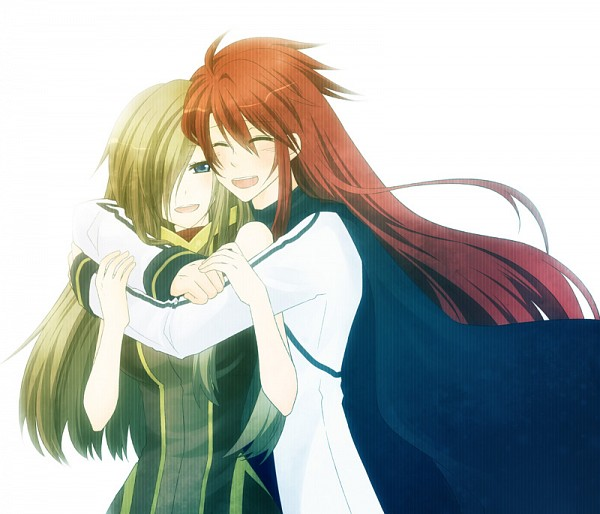 Tags: Anime, Fanart, Tales of the Abyss, Luke Fon Fabre, Tear Grants