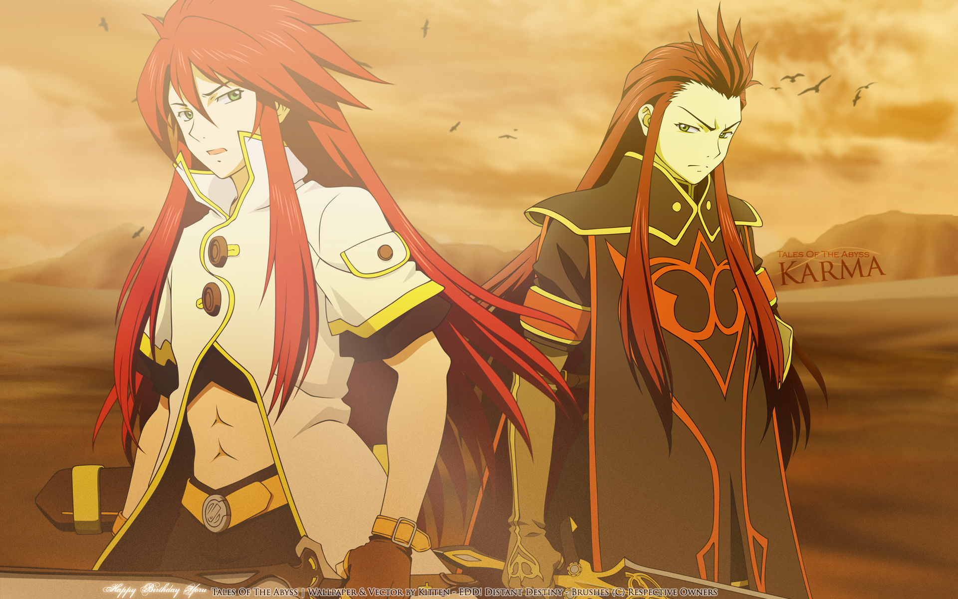 Tales of the Abyss Wallpaper 451875  Zerochan Anime Image Board