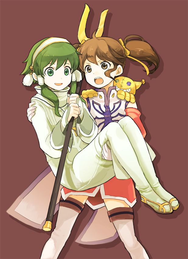 Tags: Anime, Morisuke, Tales of the Abyss, Anise Tatlin, Fon Master Ion, Tokunaga (Tales of the Abyss)