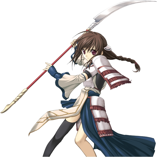Tags: Anime, Seinarukana -The Spirit of Eternity Sword 2-, Talia, Naginata