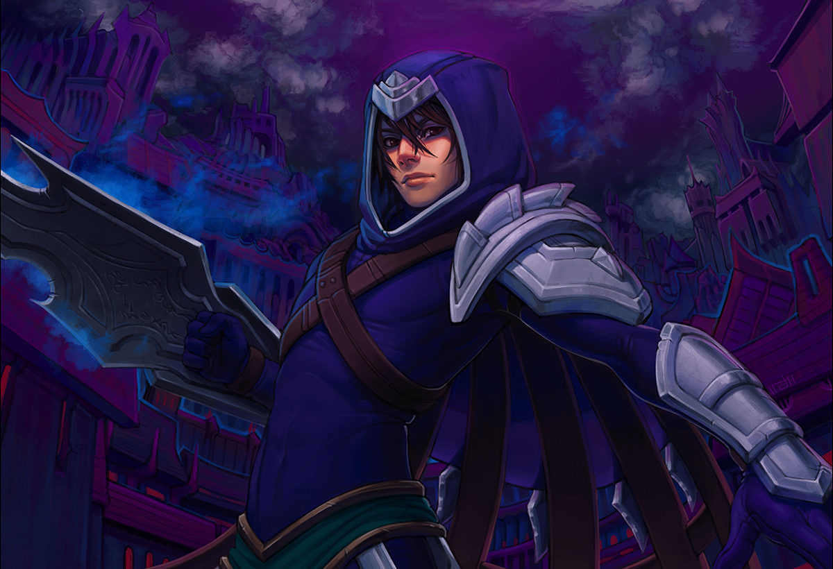 talon league of legends fanart zerochan anime image board