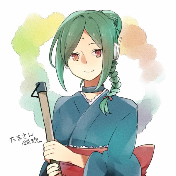 Tags: Anime, Pixiv Id 2138994, Gin Tama, Tama (Gin Tama), Android, Forehead Mark