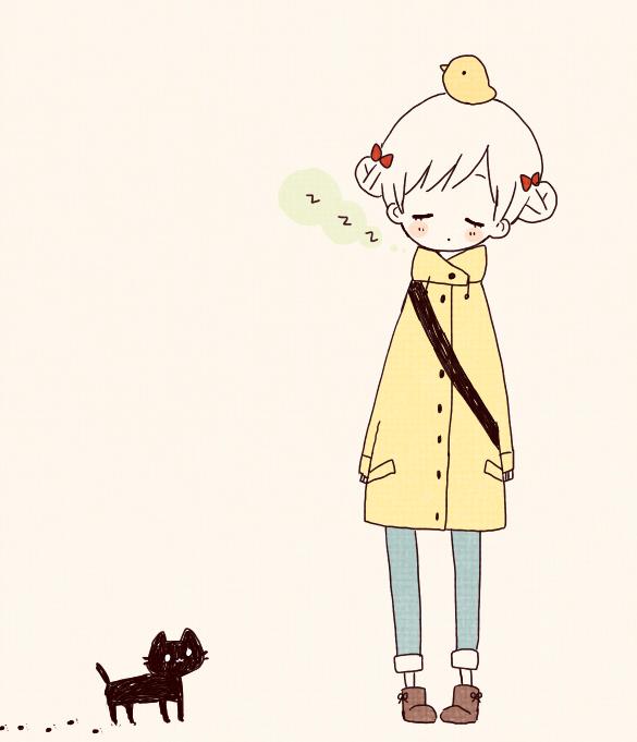 Tags: Anime, Tamao, Little Yellow Bird, Twin Buns, Little Bird