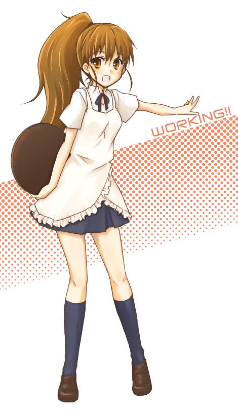 Tags: Anime, Seri Natsume, Working!!, Taneshima Popura, Fanart