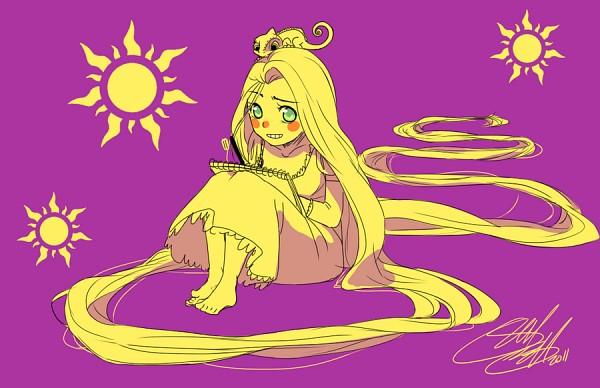 Tags: Anime, Sun, Rapunzel, Lizard, Disney, Rapunzel (Character), Tangled (Disney)