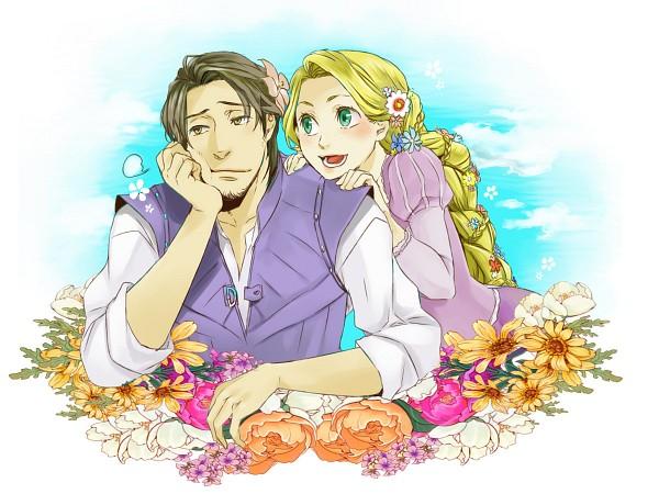 Tags: Anime, Rapunzel, Disney, Rapunzel (Character), Flin Raider (Eugene Fitsgerbert), Pixiv Id 145915, Tangled (Disney)