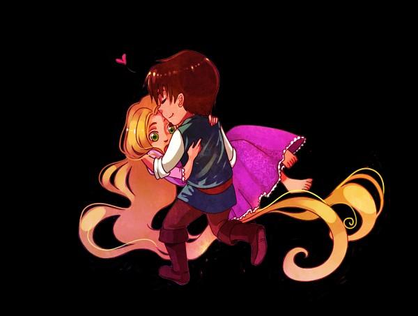 Tags: Anime, Rapunzel, Disney, Rapunzel (Character), Flin Raider (Eugene Fitsgerbert), Tangled (Disney), Rapunzel (Tangled)