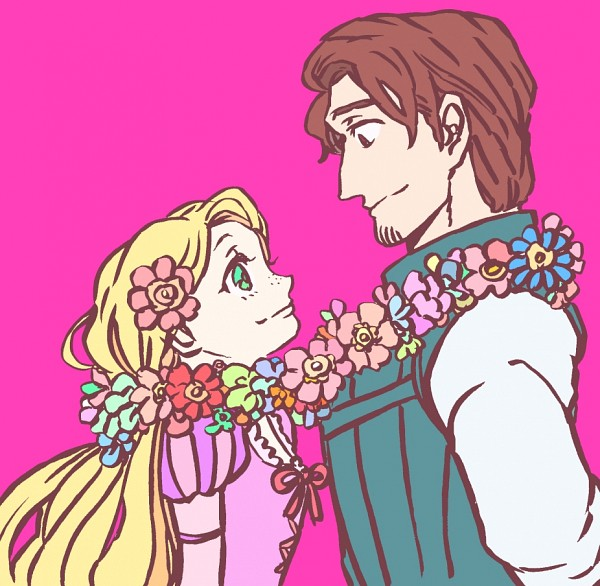 Tags: Anime, Princess, Rapunzel, Disney, Rapunzel (Character), Flin Raider (Eugene Fitsgerbert), Tangled (Disney)