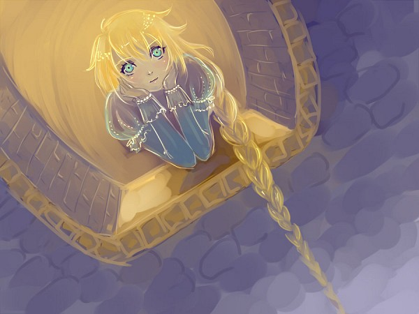 Tags: Anime, Witch Hat, Rapunzel, Window, Disney, Rapunzel (Character), Tangled (Disney)