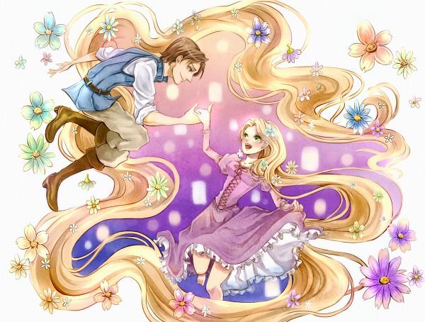 Tags: Anime, Princess, Rapunzel, Disney, Rapunzel (Character), Flin Raider (Eugene Fitsgerbert), Pixiv Id 3248054