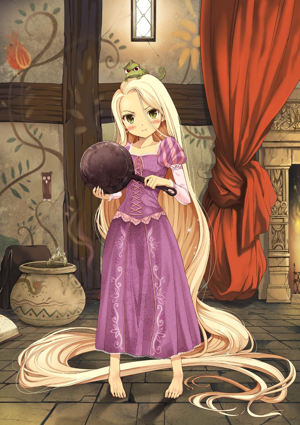Tangled disney rapunzel zerochan anime image board - Manga princesse ...