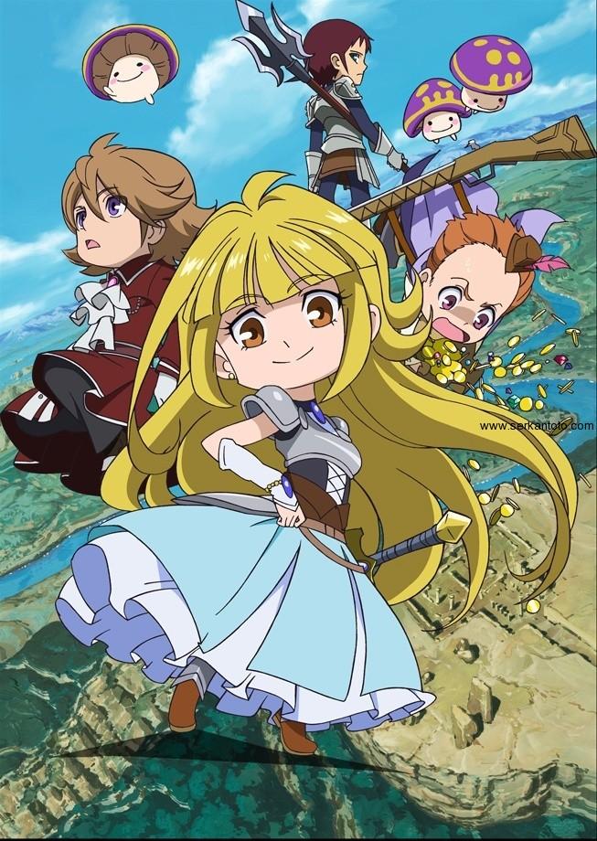 Tags: Anime, Tanken Driland, Paan, Pollon (Tanken Driland), Wallens, Mikoto (Tanken Driland), Wide Eyes, Treasure, Blue Gem, Hunter, Hat Feather, Coin, Slicked Back Hair