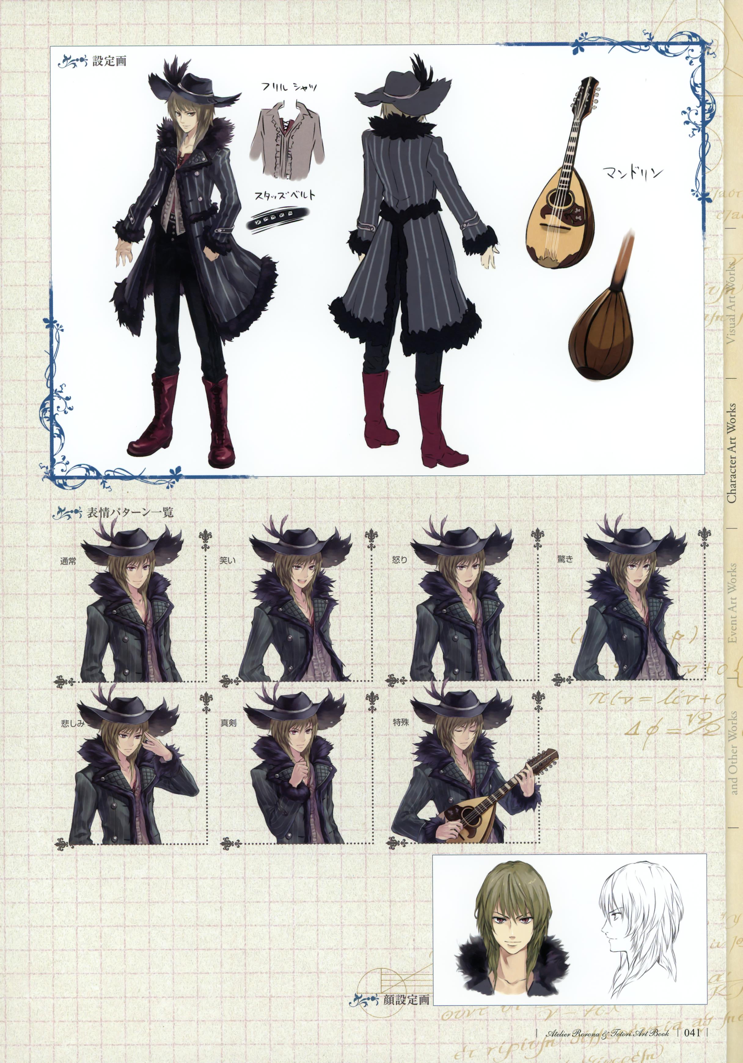 Atelier Rorona & Totori Art Book