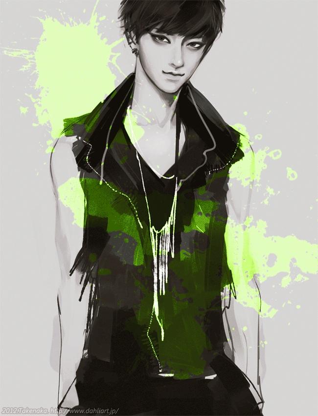 Tags: Anime, Takenaka, Tao (EXO-M), GIF Conversion, K-pop, Pixiv, EXO-M