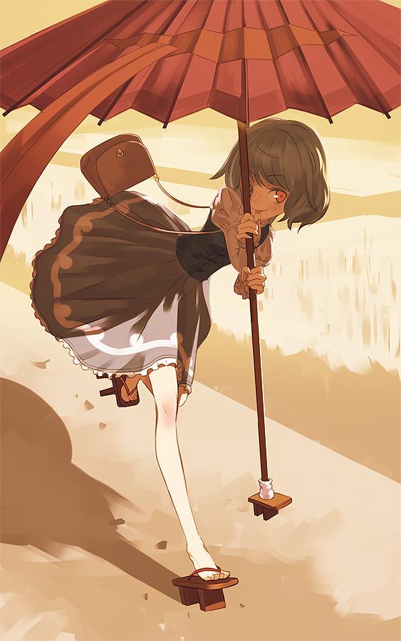 Tags: Anime, Yamamomo, Touhou, Tatara Kogasa, Fanart, Kogasa Tatara