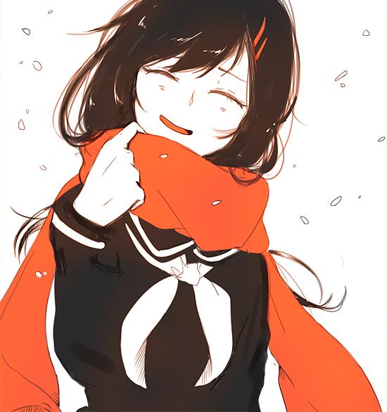 Tags: Anime, Shiuka (Shiupiku), Kagerou Project, Tateyama Ayano, Tumblr, Fanart