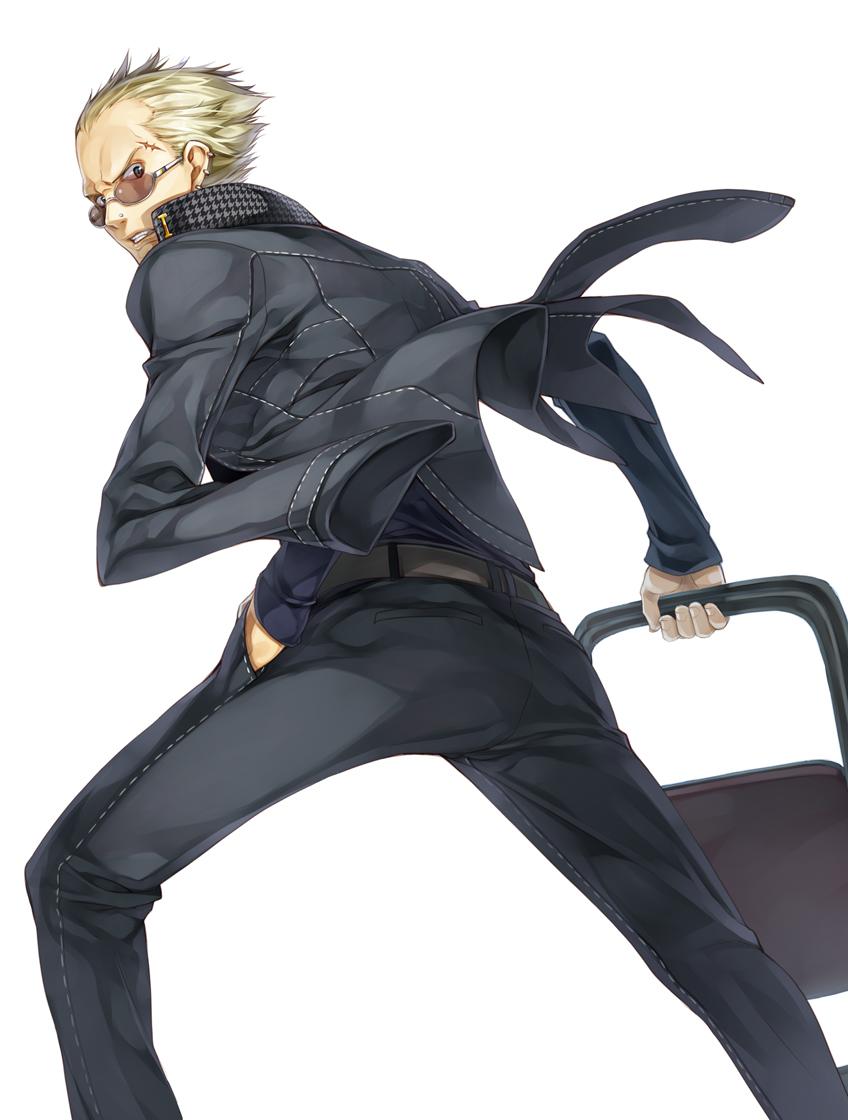 Persona 4 Anime Characters : Tatsumi kanji shin megami tensei persona image